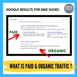paid-organic traffic